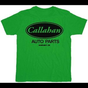 Tommy Boy Callahan Auto parts tshirt